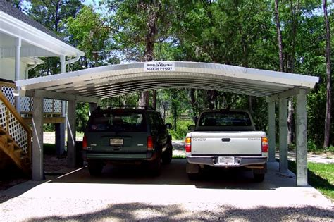 What Is A Car Port by Metal Carports Custom Portable Steel Carport Buildings Sheds