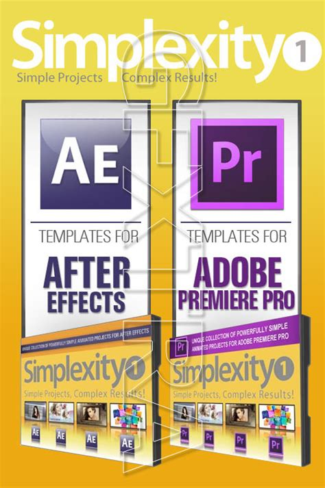 Digital Juice Simplexity Collection 1 Projects For After Effects Premiere Pro 187 Vector Digital Juice Templates