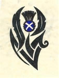 scottish thistle tattoo idea love it scottish tattoos