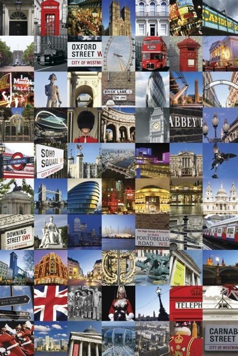 london collage poster sold at europosters