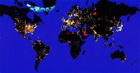 earth light map pictorial essay 31 maps that explain the usa the