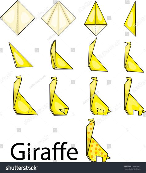 Giraffe Origami - how to make oragami out of a giraffe driverlayer search