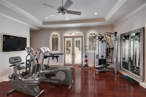 15 home gyms worth sweating in flooringinc