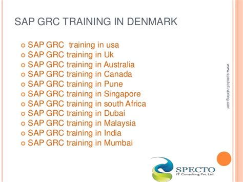 sap grc tutorial sap grc training in usa malaysia south africa
