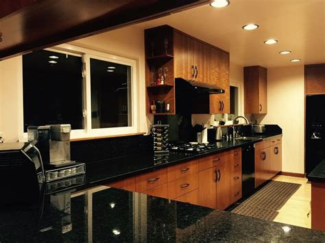 black granite countertops pictures cost pros cons