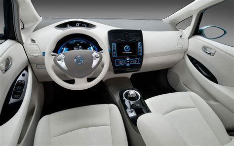Nissan Leaf 2013 Interior by 2013 Nissan Leaf Price Specs Features Images