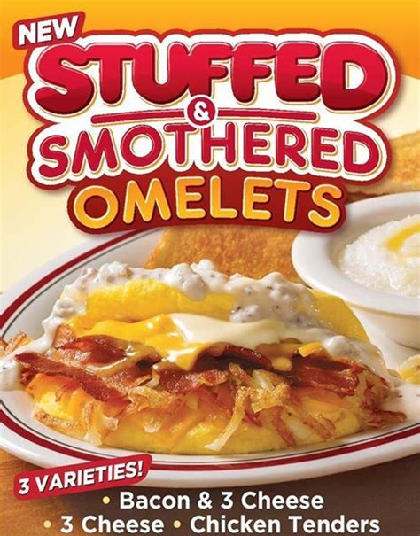 Huddle House Coupons by Huddle House 2 Stuffed Smothered Omelets Purchase