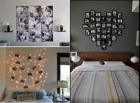 como decorar las paredes con fotos ideas para decorar tu cuarto tips originales para la