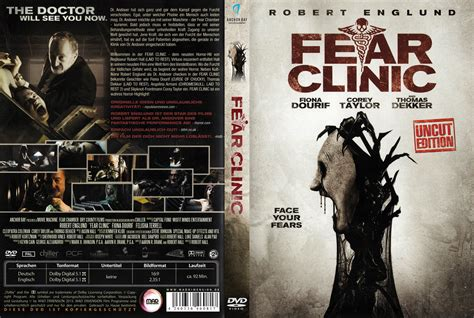 fear clinic fear clinic dvd cover label 2015 r2 german