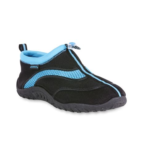 athletech s maritime water shoe black turquoise