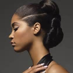 bun styles for american with medium length hair african american bun updo styles