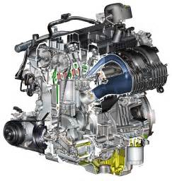 the 2 3l ecoboost engine of the new ford mustang car