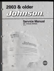 2003 johnson st outboard service manual 40 50hp ebay