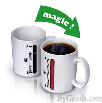 Thermometer Magic creative gift magic thermometer color changing ceramic cup
