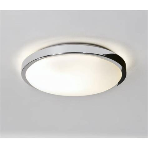 medium bathroom flush mount light ceiling fitting astro 0587 denia 1 light ceiling light ip44