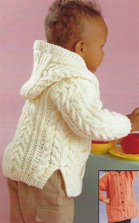 baby boy knitting patterns baby aran knitting pattern jacket with design boys