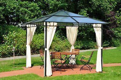 hardtop pavillon 3x4m leco pavillon nomado gartenpavillon sonnenschutz