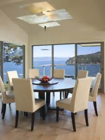 Dining Room Sets Round Table by How Much Room Is Needed For A 60 Quot Round Table With 6