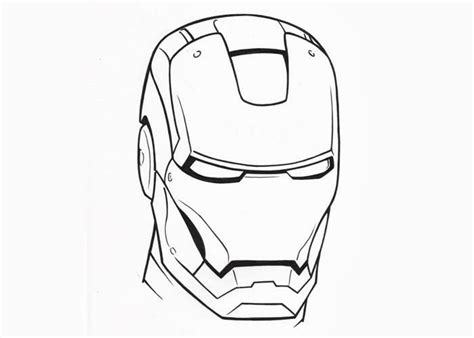 iron man face coloring pages free coloring pages and