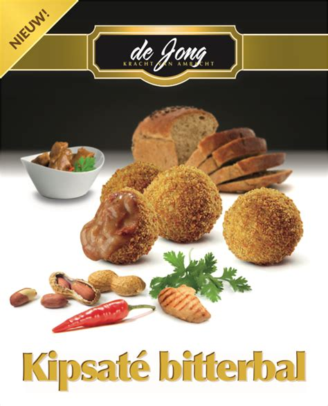 Jong Food nieuw de jong kipsate bitterbal jong food