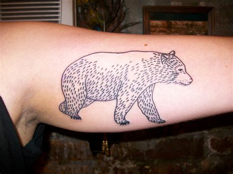 simple bear tattoo tattoos designs ideas and meaning tattoos for you