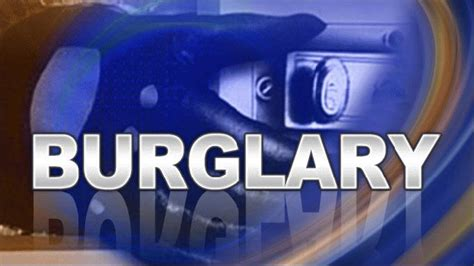 house burglary a house burglary caught on police surveillance camera s in