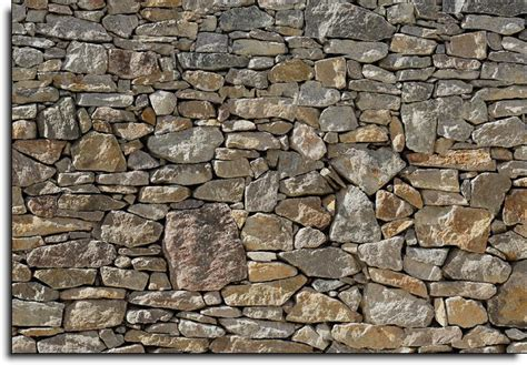 Nature Murals For Walls stone wall mural 8 727 by komar