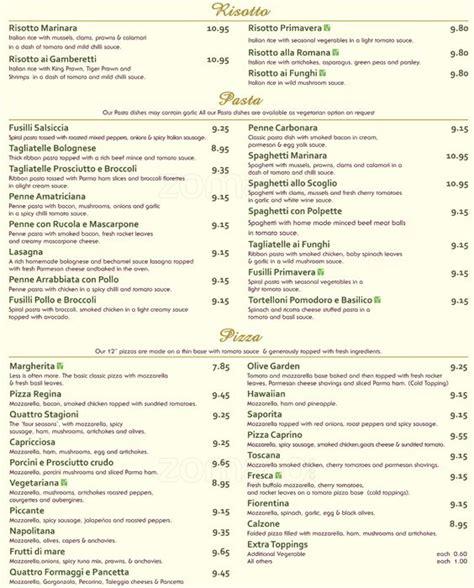 menu y precios olive garden olive garden precios garden ftempo