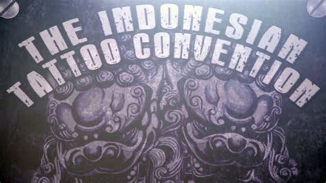 Indonesia Tattoo Convention 2016 | tattoo convention 2016 jakarta youtube