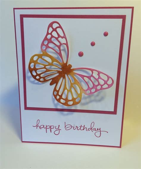butterfly card 1000 images about cards butterfly basics on