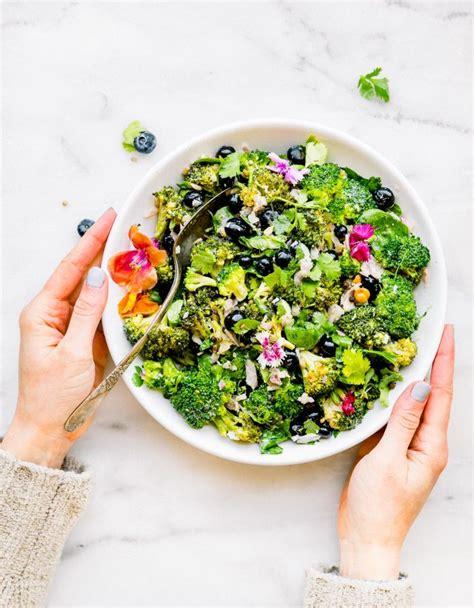 Cabbage Broccoli Detox Salad by No Mayo Detox Broccoli Salad