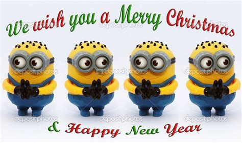 minion merry christmas happy  year quote pictures   images  facebook tumblr