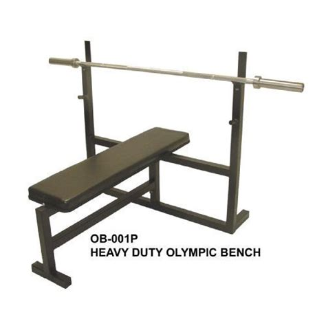 bench press with olympic bar olympic bench press w 7 bar 255 lb plate set 2 olympic