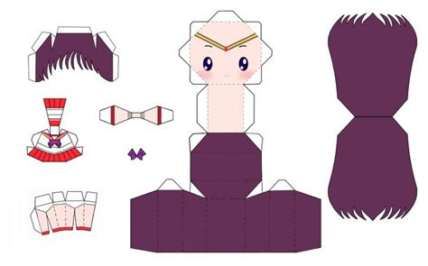 Sailor Moon Papercraft - 172 best images about papercraft on chibi