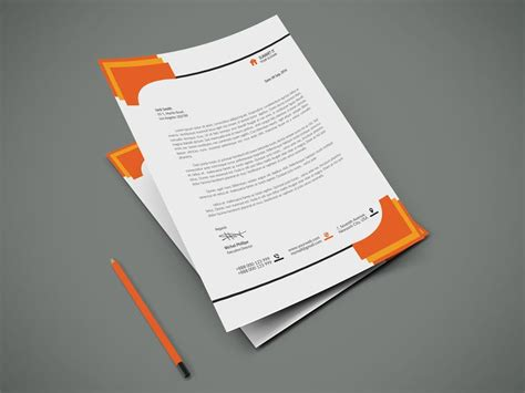 letterhead templates psd vector best 25 free letterhead templates ideas on