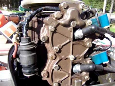 hp johnson outboard problem youtube