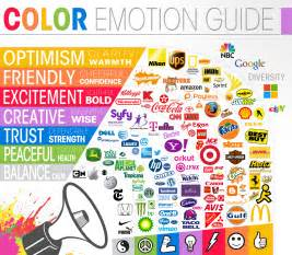 logos a look at the meaning of colors infographic