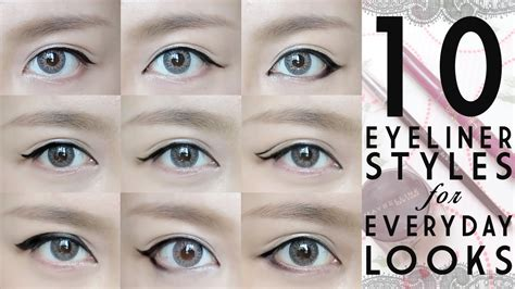 everyday eyeliner  tutorial