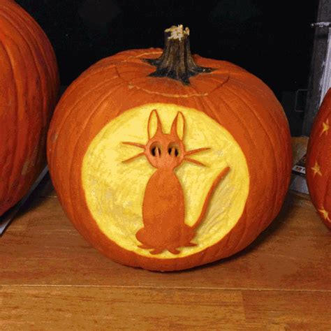 kikis delivery service pumpkin carving gif wifflegif