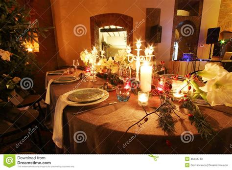 dinner gifts dinner stock image image of festivities dishes