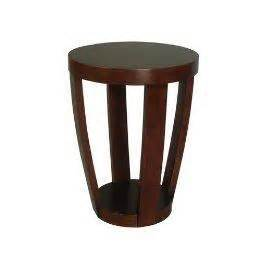target drum side table drum accent table target