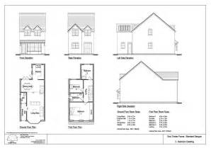 House design three bedroom self build timber frame house design