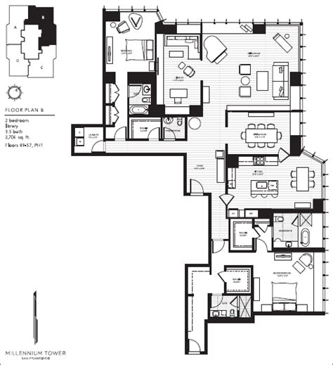 millennium tower floor plans millennium towers condos for sale and condos for rent in san francisco