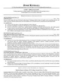 Job Bank Resume by Professional Resume Example Good Teller Resume Examples