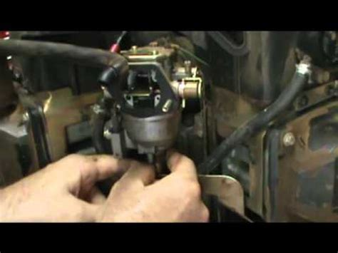 small engine repair   check  solenoid fuel shut  valve   kohler  twin engine youtube