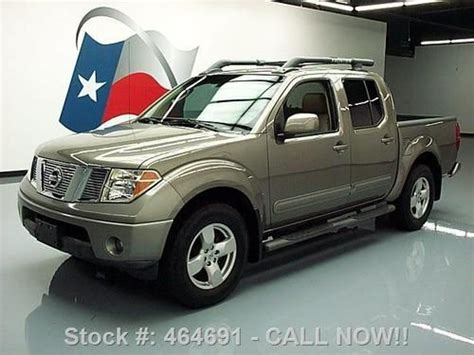 how to sell used cars 2006 nissan frontier sell used 2006 nissan frontier le crew 4x4 sunroof leather 66k mi texas direct auto in stafford