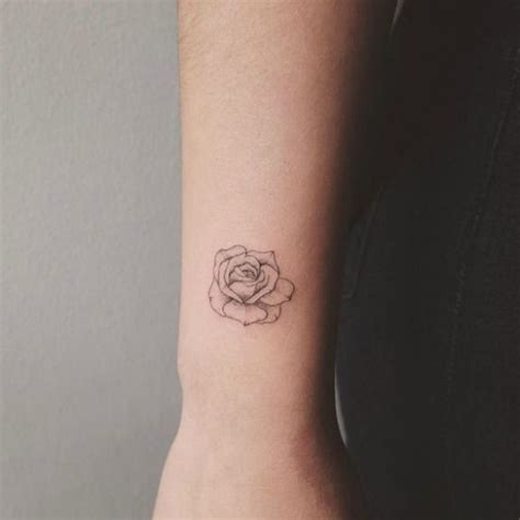 small rose tattoo on wrist best 25 small tattoos ideas on tatoo