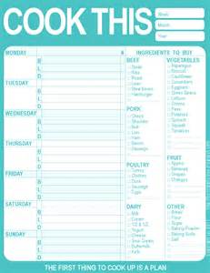 menu planning template with grocery list day 49 to do lists yay likeables