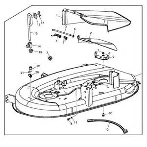 john deere replacement 42 inch mower deck housing gy22226