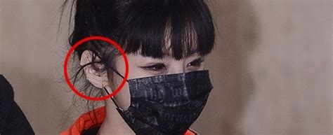 Masker Hidung netizens accuse 2ne1 s park bom of further plastic surgery with recent appearance at airport